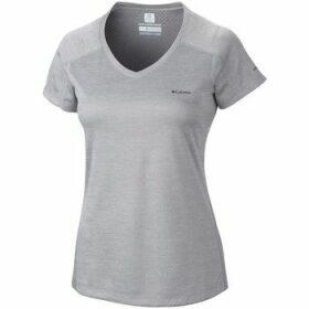 Columbia  Zero Rules  women's T shirt in Grey