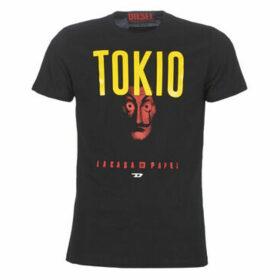 Diesel  TOKIO CASA DE PAPEL  women's T shirt in Black