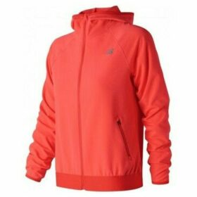 New Balance  WJ83133FLM  women's Sweatshirt in Orange