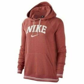 Nike  W Hoodie FLC Vrsty  women's Sweatshirt in Brown