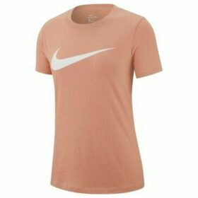 Nike  Tee Swoosh  women's T shirt in Pink