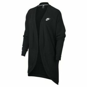 Nike  W Nsw Club Cardigan FT  women's Sweatshirt in Black
