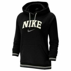 Nike  W Hoodie FLC Vrsty  women's Sweatshirt in Black