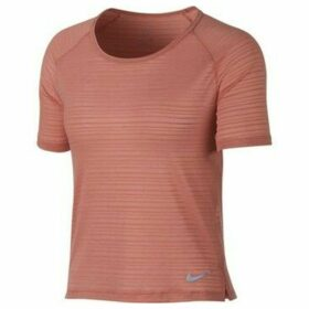 Nike  Miler  women's T shirt in Pink