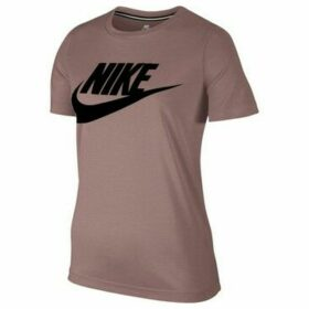 Nike  Essential Top Hbr  women's T shirt in Purple