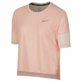 Nike  Tailwind  women's T shirt in Pink