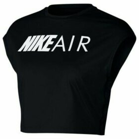 Nike  Crop Air  women's Blouse in Black