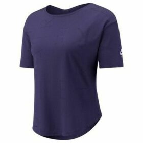 Nike  Top Air  women's T shirt in Purple