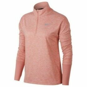 Nike  W NK Elmnt Top HZ  women's Sweatshirt in Pink