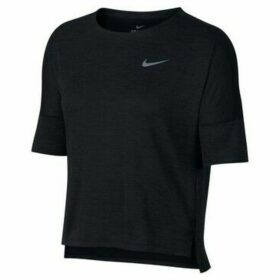 Nike  Drifit Medalist  women's T shirt in Black