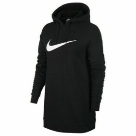 Nike  W Swsh Hoodie OS FT  women's Sweatshirt in Black