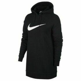 Nike  W Swsh Hoodie OS FT  women's Sweatshirt in Black
