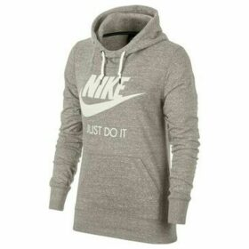 Nike  Gym Vintage Hoodie Hbr  women's Sweatshirt in Grey