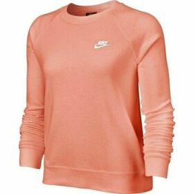 Nike  Essential Crew  women's Sweatshirt in Pink
