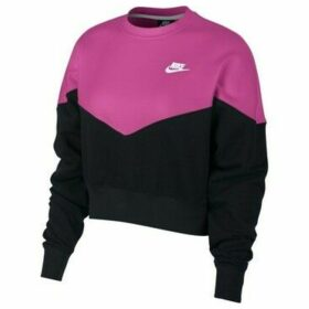 Nike  Heritage Crew Flc  women's Sweatshirt in multicolour