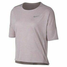 Nike  Dry Medalist Top SS  women's T shirt in Beige