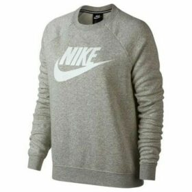 Nike  Rally Crew  women's Sweatshirt in Grey