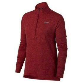 Nike  Therma Sphr Elmnt Top HZ  women's Sweatshirt in Red