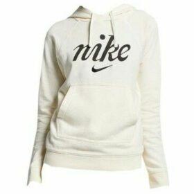 Nike  W Hoodie PO Wsh  women's Sweatshirt in Beige