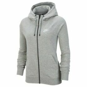 Nike  Wmns Essential FZ Fleece  women's Sweatshirt in Grey