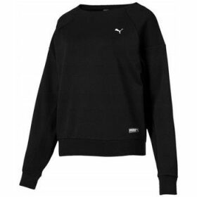 Puma  Fusion Crew  women's Sweatshirt in Black