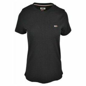 Tommy Hilfiger  DW0DW04681078  women's T shirt in Black