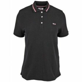 Tommy Hilfiger  DW0DW04512078  women's Polo shirt in Black
