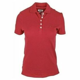 Tommy Hilfiger  DW0DW04513610  women's Polo shirt in Red