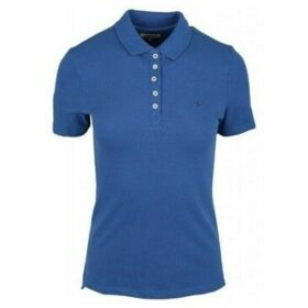 Tommy Hilfiger  DW0DW04300407  women's Polo shirt in Blue