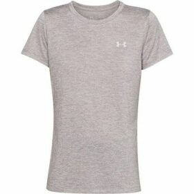 Under Armour  Twist  women's T shirt in Grey