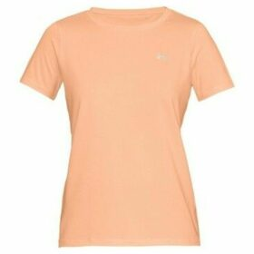 Under Armour  Threadborne Train Twistorg  women's T shirt in Orange