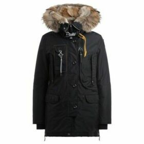 Parajumpers  Parka model Kodiak in black oxford nylon padded with down  women's Parka in Black