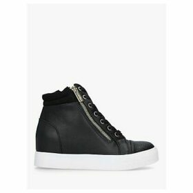 Carvela Juno High Top Trainers, Black