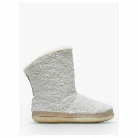 TOMS Inez Fur Boot Slippers, Natural Cream