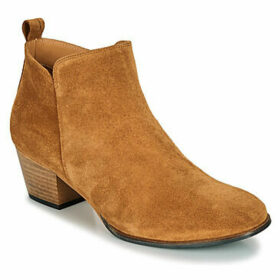 Emma Go  WALLACE  women's Low Ankle Boots in Brown