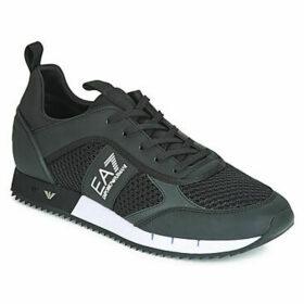 Emporio Armani EA7  LACES U  women's Shoes (Trainers) in Black