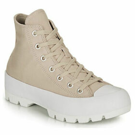 Converse  CHUCK TAYLOR ALL STAR LUGGED HI  women's Shoes (High-top Trainers) in Beige