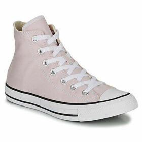 Converse  CHUCK TAYLOR ALL STAR SEASONAL HI  women's Shoes (High-top Trainers) in Pink