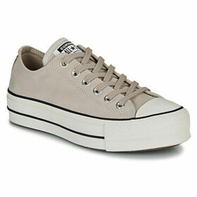 Converse  CHUCK TAYLOR ALL STAR LIFT OX  women's Shoes (Trainers) in Beige