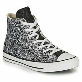 Converse  CHUCK TAYLOR ALL STAR GLITTER HI  women's Shoes (High-top Trainers) in Black