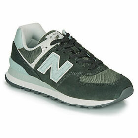 New Balance  574  women's Shoes (Trainers) in Green