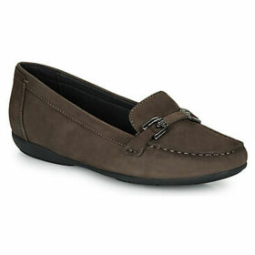 Geox  D ANNYTAH MOC  women's Loafers / Casual Shoes in Brown