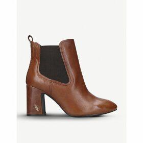 Raylan heeled leather Chelsea boots