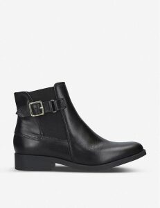 Rich leather ankle boots