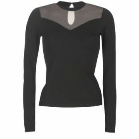 Moony Mood  LAMELI  women's Blouse in Black