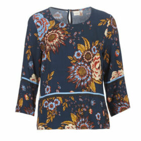 Cream  RANJA BLOUSE  women's Blouse in Blue