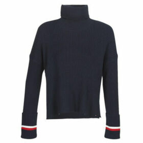 Tommy Hilfiger  HASEL ROLL-NK SWTR  women's Sweater in Blue
