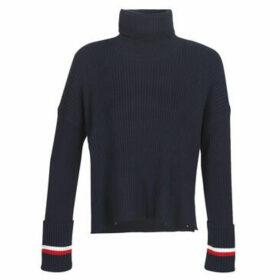 Tommy Hilfiger  HASEL ROLL-NK SWTR  women's Sweater in Blue