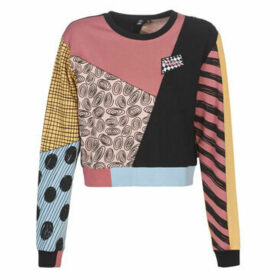 Vans  SALLY PATCHWORK CREW  women's Sweatshirt in Multicolour