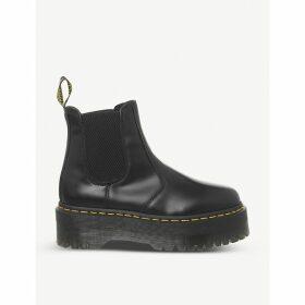 2976 platform leather Chelsea boots